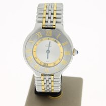 Cartier Must 21 Lady Steel/Gold 1999