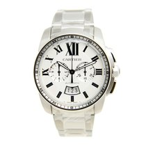 Cartier Caliber De Cartier Stainless Steel Silver Automatic...