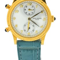 Patek Philippe Calatrava Travel Time 18K Yellow Gold