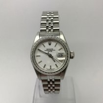 Rolex DATE 69240 AUTOMATIC WHITE DIAL LADIES 26mm