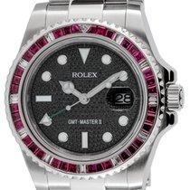 ロレックス (Rolex) Rolex GMT-Master II Steel Red Ruby Precious...