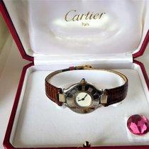 Cartier Must 21 -- unisex wrist watch -- circa 1990s{ref no 48}