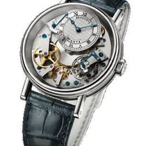 Breguet Tradition Manual Wind 40mm  White Gold - 7057bb/11/9w6