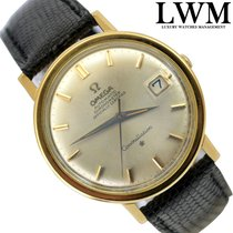 Omega Constellation 168.004 automatic date 1967 yellow gold 18KT