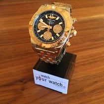 Breitling Chronomat 41 im Fullset  mit Goldlünette