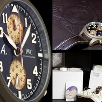 """IWC Fliegeruhr Chronograph Brown Limited """" The Last Flight..."""