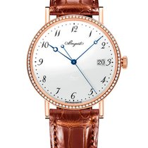 Breguet Brequet Classique 5287 18K Rose Gold Ladies Watch