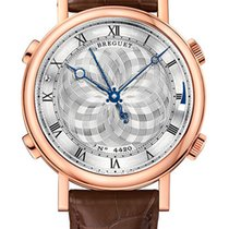 Breguet Brequet La Musicale 7800 18K Rose Gold Men's Watch