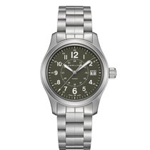 Hamilton Men's H68201163 Khaki Field Quartz Steel Watch