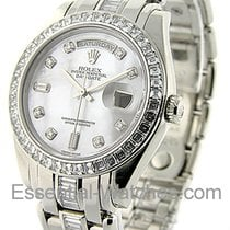 Rolex Unworn 18956_sil_dd Mens Platinum Masterpiece with...