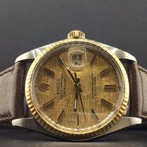 Rolex Datejust 36mm 2 Tone 18k Yellow Gold & Steel service...