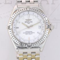 Breitling Wings Automatik Chronometer Edelstahl White Dial...