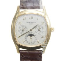 Patek Philippe Grand Complications 18 K Yellow Gold Silver...