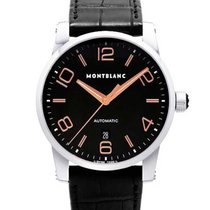 Montblanc 101551 Time Walker 43MM Automatic in Steel - on...