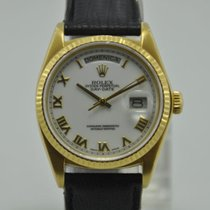 Rolex Oyster Perpetual Day-Date 18K Gold Ref. 18038 - Men'...