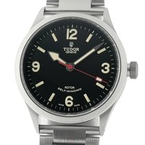 Tudor Heritage Ranger Stainless Steel Black Dial 41mm