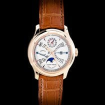 Roger Dubuis Men's Watch Hommage 18K Rose Gold Perpetual Calendar
