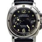 Panerai Submersible Pam 024 SS on Leather Full Package