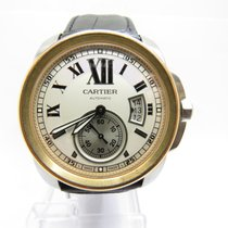 Cartier Calibre de Cartier steel and 18ct Rose gold Automatic