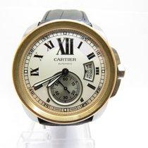 Cartier Calibre de Cartier steel and 18ct Rose gold Automatic