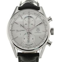 TAG Heuer Carrera 41 Automatic Chronograph Silver Dial Calibre...