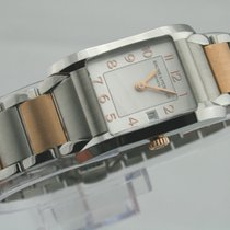 Baume & Mercier Hampton  Damenuhr Mother of Pearl Stahl-Go...