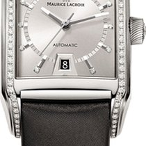 Maurice Lacroix Pontos Rectangular Automatic Diamonds