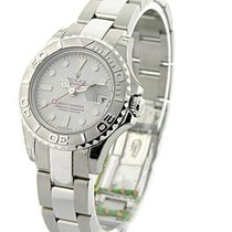 Rolex Unworn 168622 Yachtmaster in Steel with Platinum Bezel -...