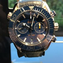Omega Seamaster Planet Ocean Master Co-Axial Blue