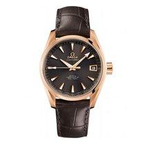 Omega Seamaster Aqua terra  18k Rose Gold Mens watch 231.53.42...
