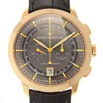 Girard Perregaux Girard-perregaux 1966 18k Rose Gold Gray...