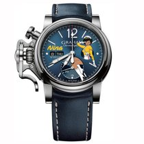 Graham Chronofighter Vintage Nose Art Ltd Nina
