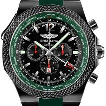 Breitling A47362S4-B919-214S Bentley GMT 49mm in Steel - on...