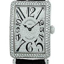 """Franck Muller Lady's 18K White Gold  Diamond """"Long..."""