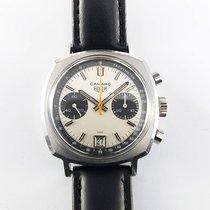 Heuer Camaro 73443 Dato Valjoux 7734 Vintage great condition RARE