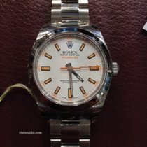 Rolex Oyster Perpetual Milgauss Ref.116400 weisses ZB