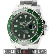 Rolex Submariner Stainless Steel Green Dial Ceramic Hulk