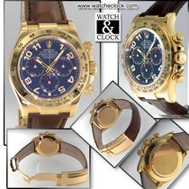 ロレックス (Rolex) Daytona oro pelle-Yellow-gold