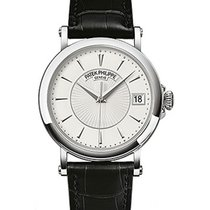 Patek Philippe 5153G-010 Mens Calatrava 5153G in White Gold -...