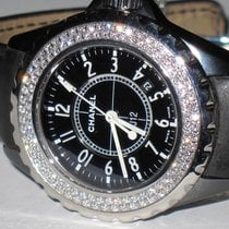 Chanel J12 Ceramic 33 MM Diamonds