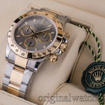 Rolex Daytona Steel and Gold Grey Dial