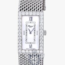 ショパール (Chopard) Les Classiques Rectangle with Diamond Bezel