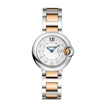 Cartier Ballon Bleu Quartz Ladies Watch Ref WE902030