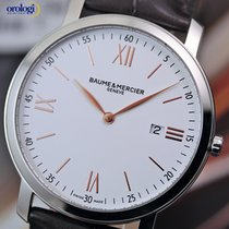 Baume & Mercier Men's Classima 39mm Quartz Steel on...