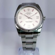 Rolex Air King with Engine Bezel 114210 spio