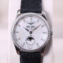 Longines Master Collection Moonphase Ladies Steel & Diamond