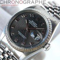 Rolex datejust 16030 acier cadran motif 1984