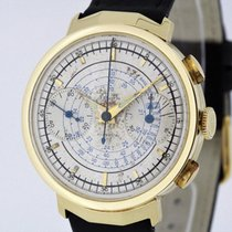 Zenith Compur solid 18K Yellow Gold Vintage Chronograph Cal. 96