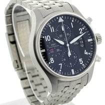 IWC IW377704 Pilot's Chronograph Automatic Stainless Steel...