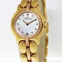 Bertolucci Ladies Pulchra 18k Yellow Gold Diamond MOP Quartz...